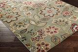 Artistic Weavers Crete Amara Green Multi Area Rug Corner Shot