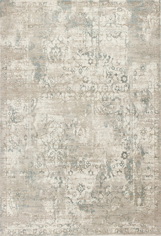 KAS Crete 6507 Ivory Illusion Machine Woven Area Rug
