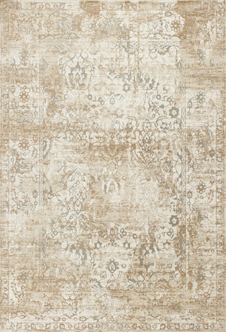 KAS Crete 6509 Beige Illusion Machine Woven Area Rug