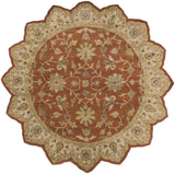 Surya Crowne CRN-6002 Rust Area Rug 8' Star