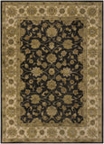 Surya Crowne CRN-6009 Black Area Rug 8' X 11'