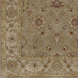 Surya Crowne CRN-6010 Beige Hand Tufted Area Rug Sample Swatch