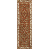 Surya Crowne CRN-6029 Rust Area Rug 2'6'' x 8' Runner
