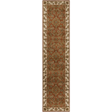 Surya Crowne CRN-6029 Rust Area Rug 3' x 12' Runner