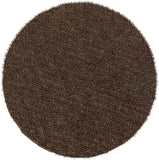 Surya Croix CRX-2991 Dark Brown Area Rug 8' Round