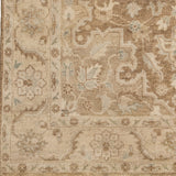 Surya Cheshire CSH-6002 Mocha Hand Knotted Area Rug Sample Swatch