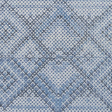 Surya Chaska CSK-1301 Bright Blue Area Rug Sample Swatch
