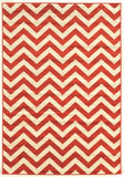 Linon Claremont Collection RUGCT02 Terracotta/Ivory Area Rug main image