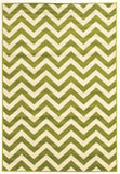 Linon Claremont Collection RUGCT03 Green/Ivory Area Rug main image