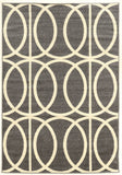 Linon Claremont Collection RUGCT11 Grey/Ivory Area Rug main image