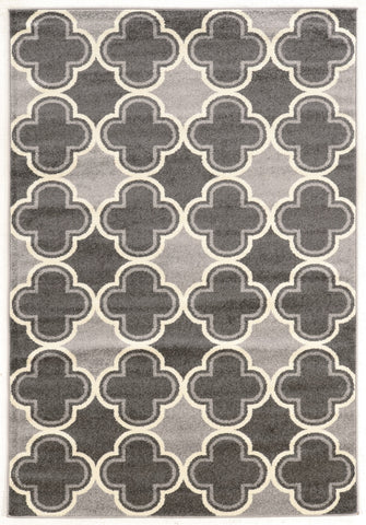 Linon Claremont Collection RUGCT13 Grey/Grey Area Rug main image