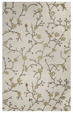 Rizzy Country CT1634 Ivory Area Rug