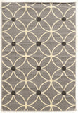 Linon Claremont Collection RUGCT17 Grey/Ivory Area Rug main image