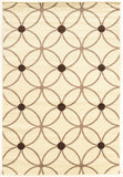 Linon Claremont Collection RUGCT18 Ivory/Beige Area Rug main image