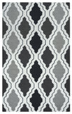 Rizzy Country CT2594 Black/Grey Area Rug
