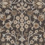 Surya Castille CTL-2004 Black Hand Tufted Area Rug Sample Swatch
