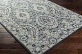 Surya Castille CTL-2009 Medium Gray Hand Tufted Area Rug Corner Shot