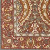 Surya Castille CTL-2010 Dark Red Area Rug Sample Swatch