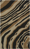 Surya Courtyard CTY-4028 Black Area Rug by Candice Olson