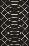Surya Courtyard CTY-4038 Black Area Rug by Candice Olson