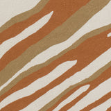 Surya Courtyard CTY-4044 Burnt Orange Area Rug by Candice Olson Sample Swatch