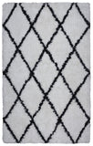 Rizzy Connex CX004A White Area Rug