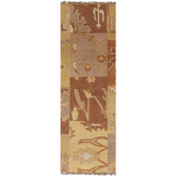Surya Cypress CYP-1003 Gold Area Rug 2'6'' x 8' Runner