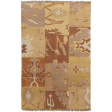 Surya Cypress CYP-1003 Gold Area Rug 5' x 8'
