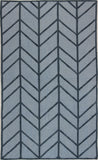 Bashian Hampton D105-FW17 Light Blue Area Rug