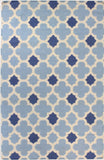 Bashian Hampton D105-FW9 Light Blue Area Rug