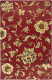 LR Resources Dazzle 54006 Red Area Rug