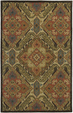 LR Resources Dazzle 54007 Red Area Rug