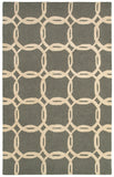 LR Resources Dazzle 54015 Ash/Beige Area Rug