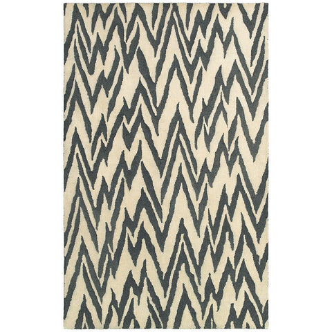 LR Resources Dazzle 54017 Beige/Coal Area Rug