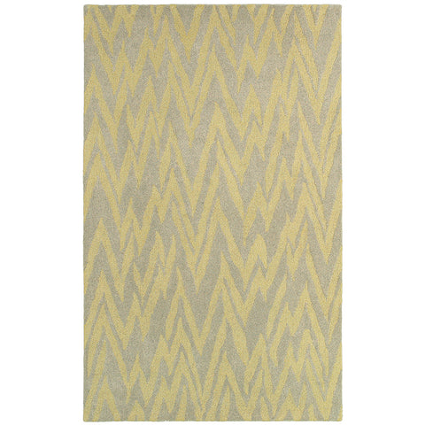 LR Resources Dazzle 54018 Gray/Gold Area Rug