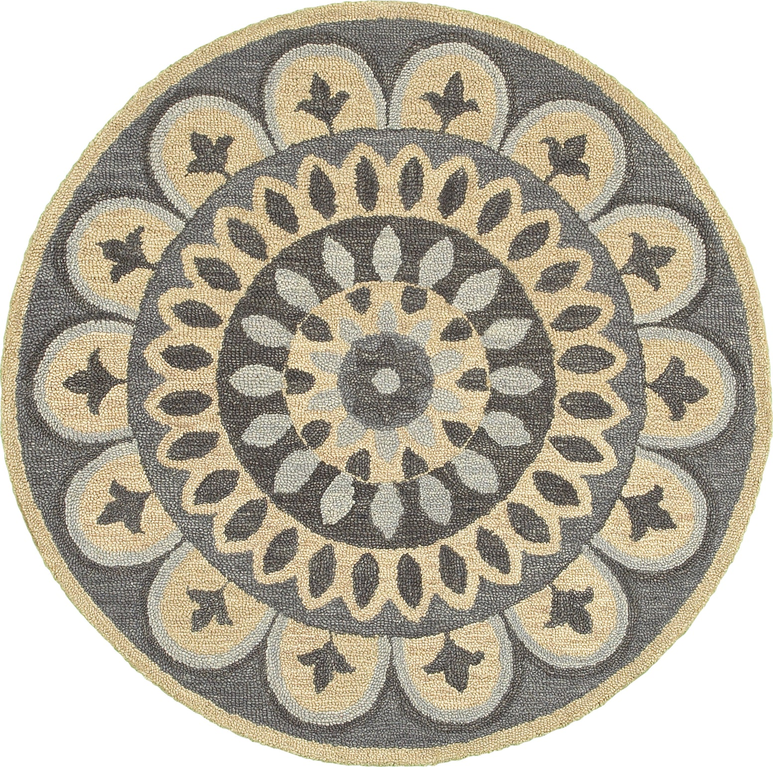 LR Resources Dazzle 54054 Gray Area Rug main image
