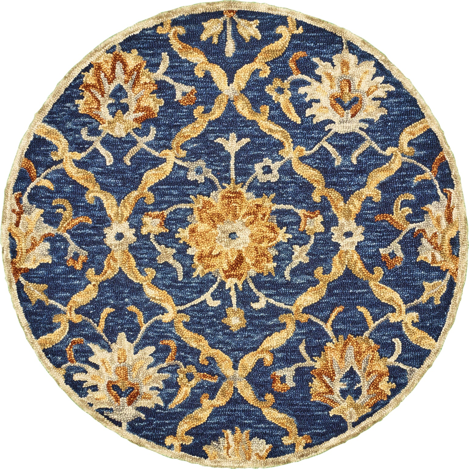 LR Resources Dazzle 54069 Navy Area Rug main image