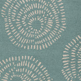 Surya Decorativa DCR-4010 Teal Hand Tufted Area Rug by Lotta Jansdotter Sample Swatch