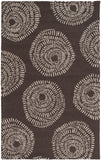 Surya Decorativa DCR-4012 Light Gray Area Rug by Lotta Jansdotter 5' x 8'