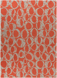 Surya Decorativa DCR-4015 Rust Area Rug by Lotta Jansdotter 8' x 11'