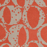 Surya Decorativa DCR-4015 Rust Hand Tufted Area Rug by Lotta Jansdotter Sample Swatch