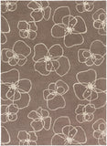 Surya Decorativa DCR-4024 Olive Area Rug by Lotta Jansdotter 8' x 11'