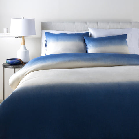 Surya Dip Dyed DDP-2001 Blue Bedding
