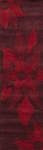 Momeni Delhi DL-40 Red Area Rug main image