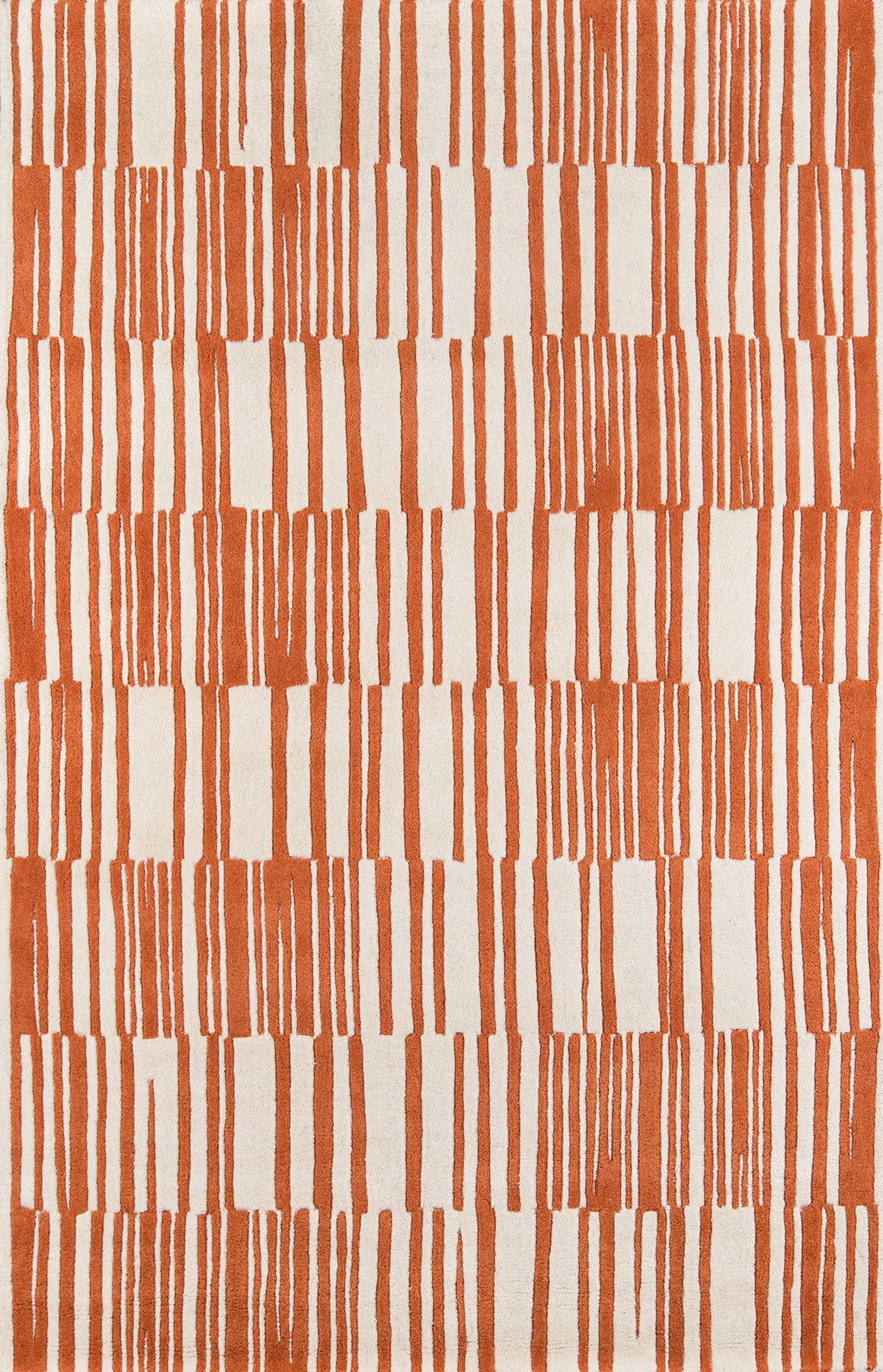Momeni Delhi DL-49 Orange Area Rug main image