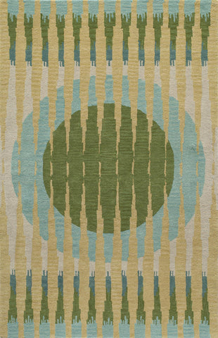 Momeni Delhi DL-60 Green Area Rug main image