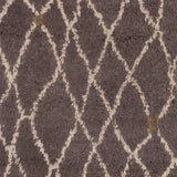 Surya Denali DEN-5005 Charcoal Hand Knotted Area Rug Sample Swatch