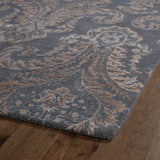 Kaleen Divine DIV06-75 Grey Area Rug Close-up Shot
