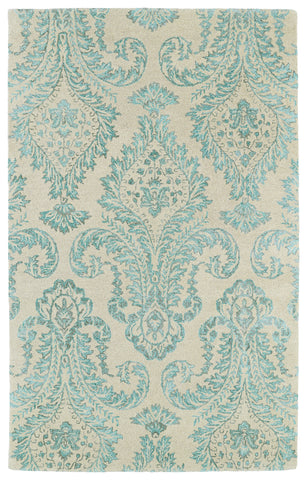 Kaleen Divine DIV06-78 Turquoise Area Rug