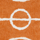 Surya Dunk DNK-5000 Burnt Orange Hand Tufted Area Rug by Papilio Sample Swatch